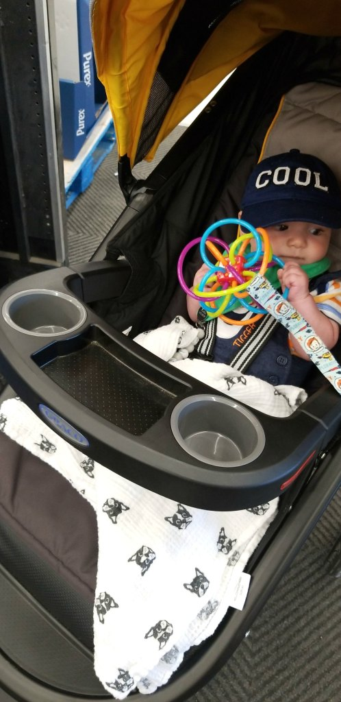 Toy leashes are great for keeping your baby's toys off the ground.
