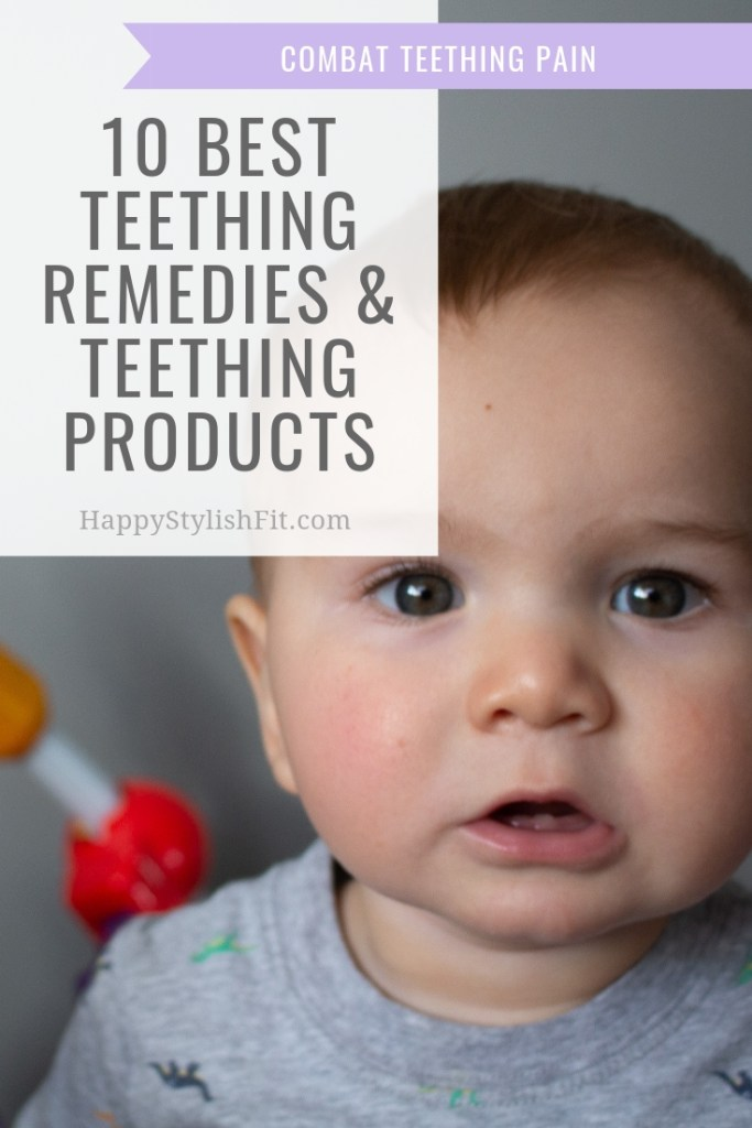 10 Best teething remedies and teething products to combat teething pain and sleepless nights #Baby #Newborn #Teething #TeethingSucks #TeethingRemedies #TeethingProducts
