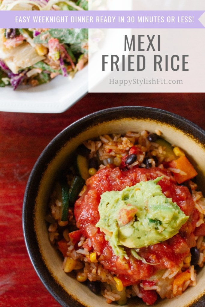Mexi Fried Rice Weeknight Meal