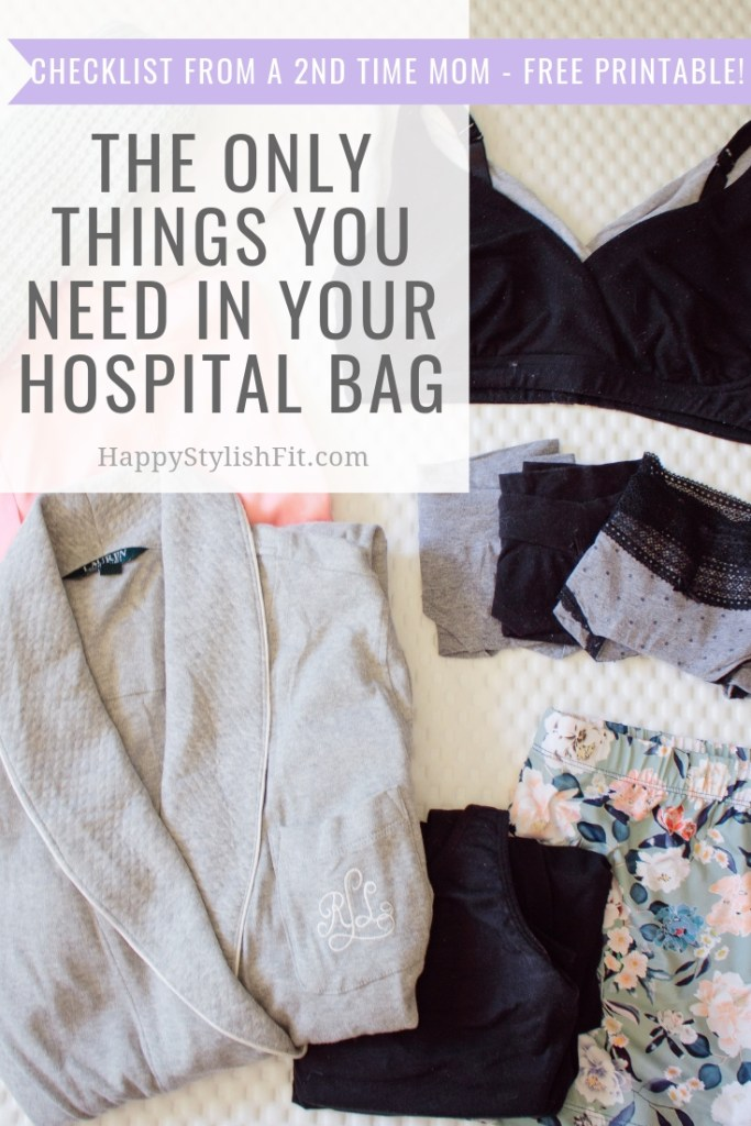 The Only Things You Need in Your Hospital Bag