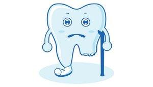 牙齒斷裂修復