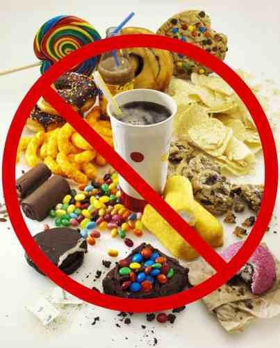 避免進食甜食