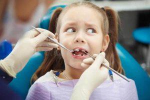 兒童不喜歡牙醫