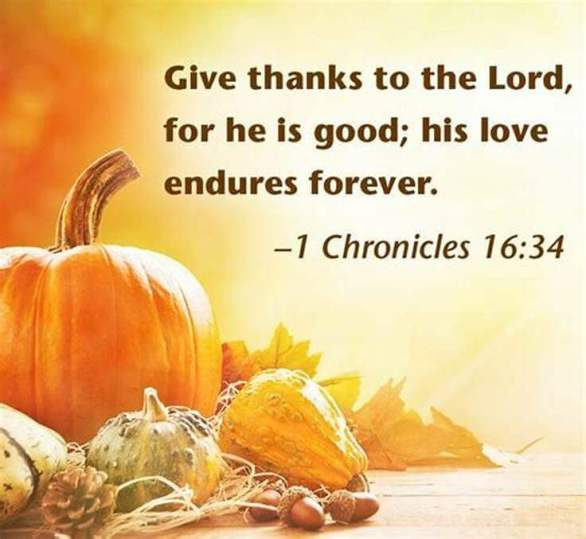 Thanksgiving Verses Images