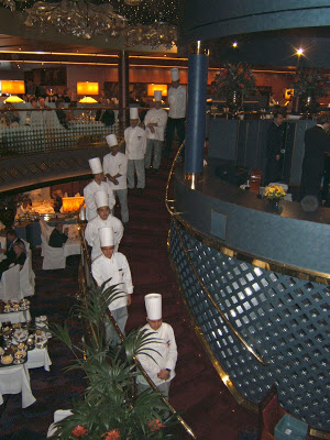 Vista dining room chefs