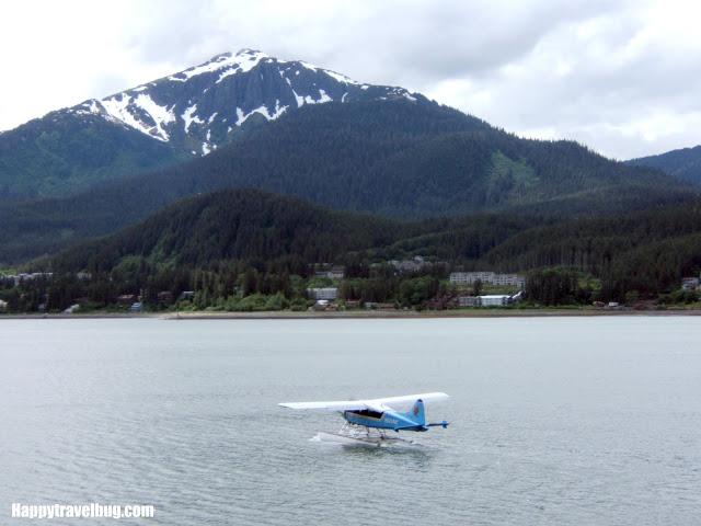 Float plane in Alaska