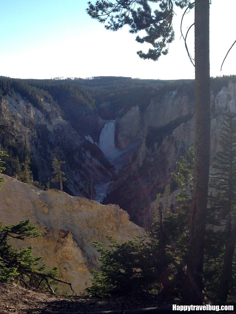 Artist Point in Yellowstone National Park