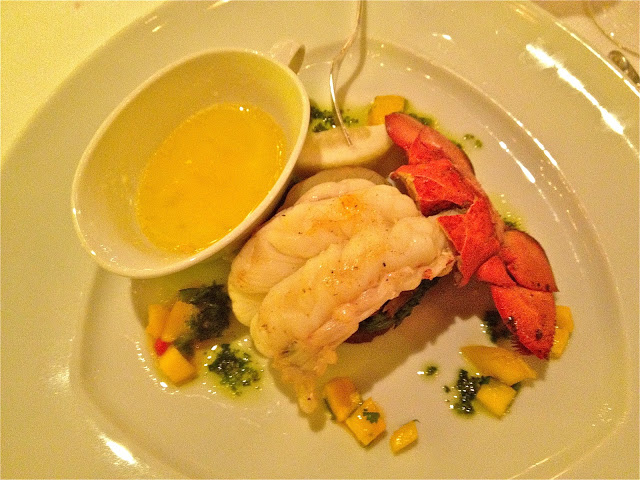 Lobster Tail from the Pinnacle Grill restaurant