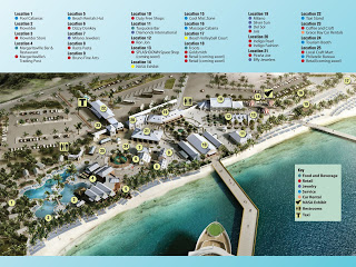 Grand Turk Cruise Center Map