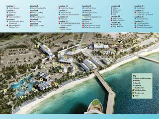 Grand Turk Cruise Center Map