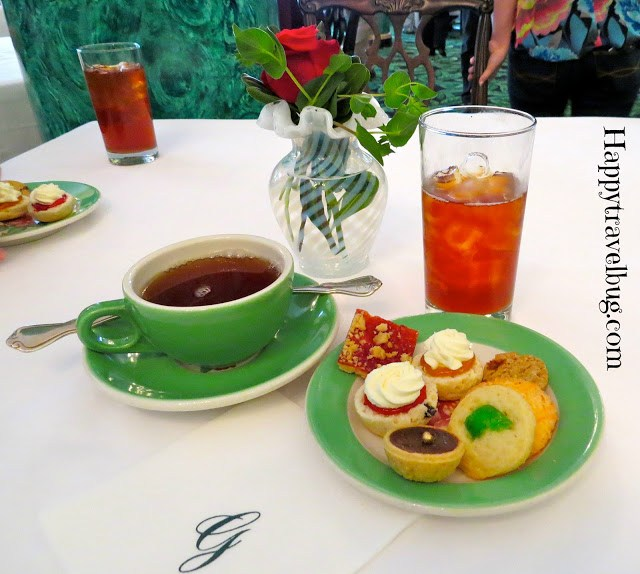 Afternoon Tea at the Greenbrier