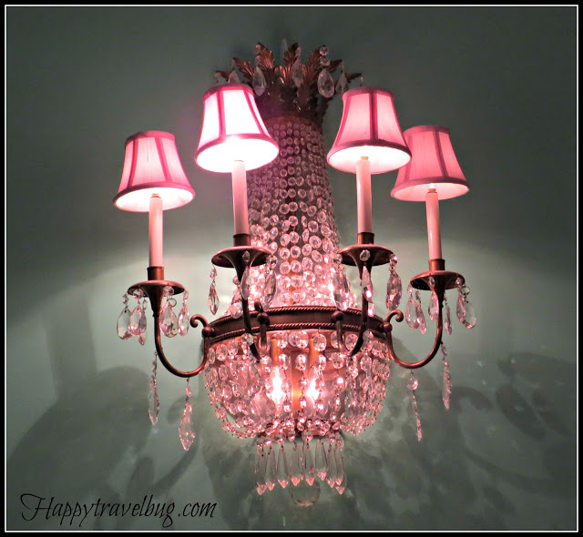 Sconce at the Greenbrier