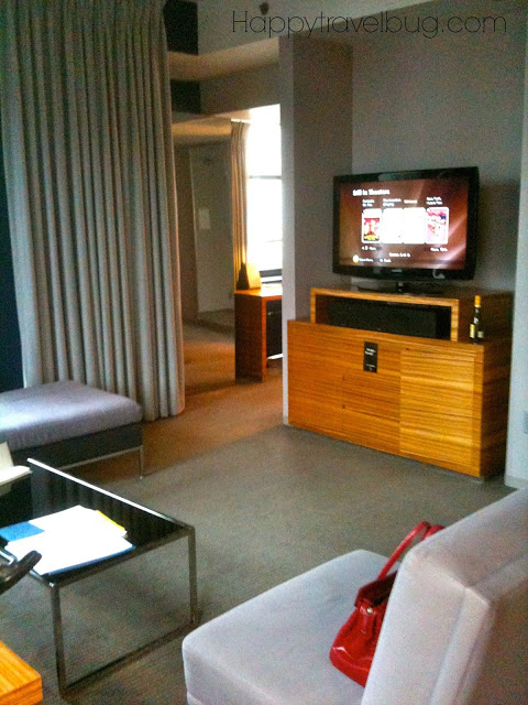 Tower Suite at the Hard Rock Hotel