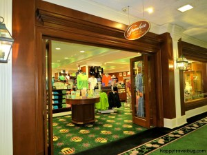 Shopping at the Greenbrier
