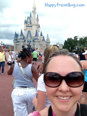 Me and Cinderella's castle at Disney World
