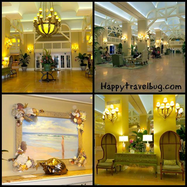 Disney's Beach Club resort lobby area
