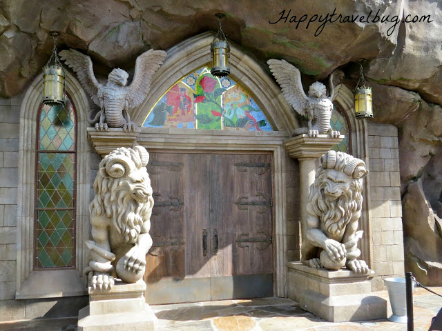Doors to Be Our Guest Restaurant at Disney World