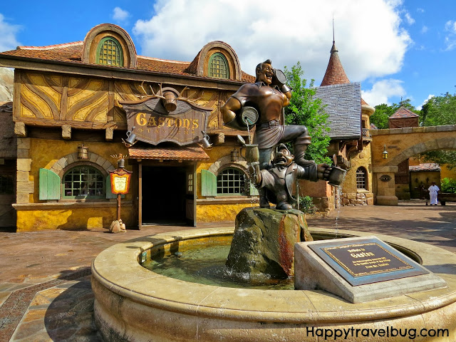Gaston's Tavern at the new Fantasyland in Disney World