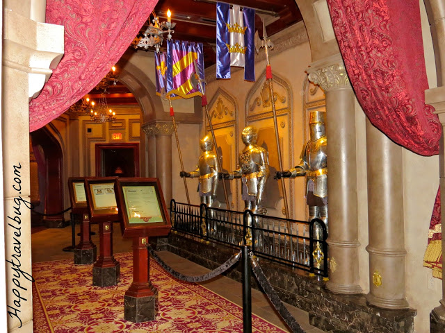 Where you wait in line at Be Our Guest Restaurant in Disney World