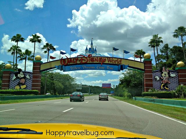 Entrance to Walt Disney World in Orlando