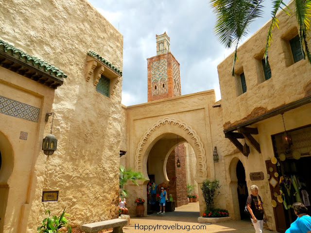 Moroccan buildings in Epcot