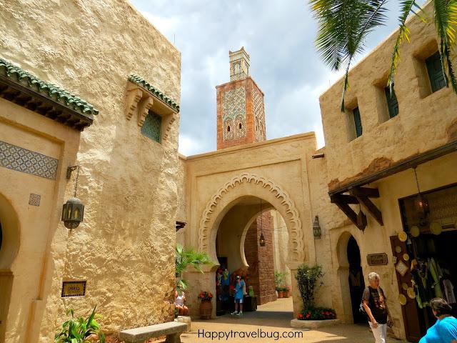 Moroccan buildings in Epcot