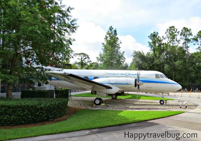 Walt Disney's private plane