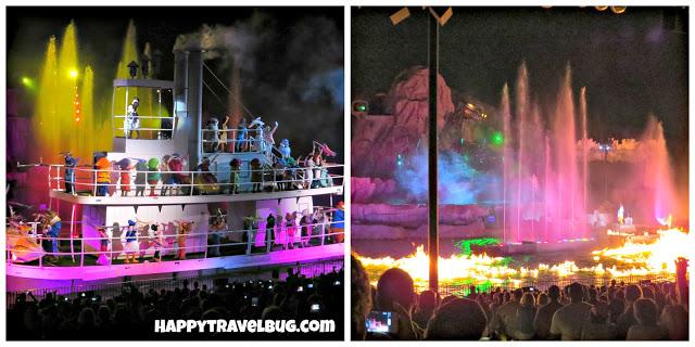 Fantasmic show at Disney's Hollywood Studios