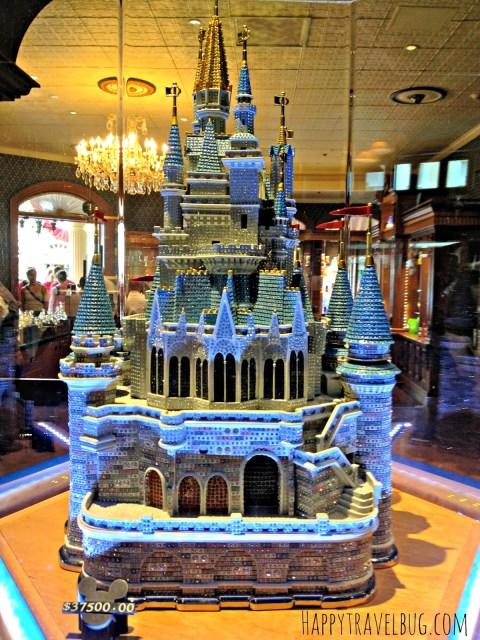 Cinderella castle made out of crystals is $37,500