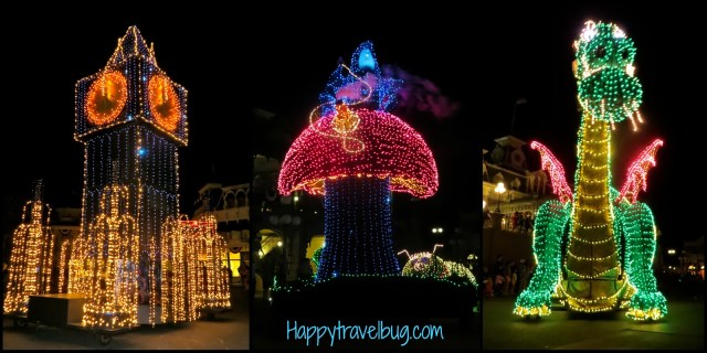 Disney's electrical parade at the Magic Kingdom