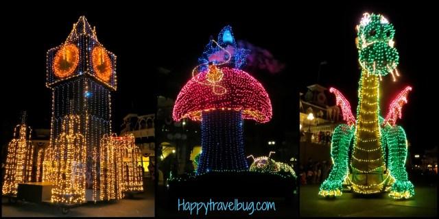 Disney's electrical parade at the Magic Kingdom