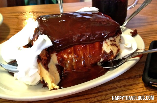 Mississippi Mud Pie from Cotham's in Arkansas