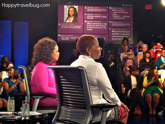 Oprah Winfrey and Iyanla Vanzant on Lifeclass