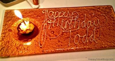 Birthday treat at TRU