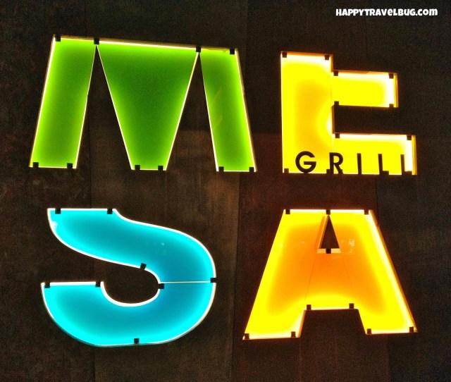 Mesa Grill sign in Caesar's Palace < Las Vegas
