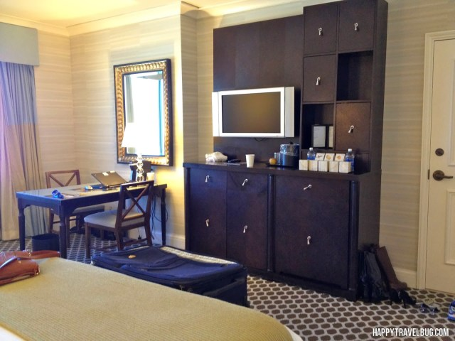 Hotel Room at Caesar's Palace in Las Vegas