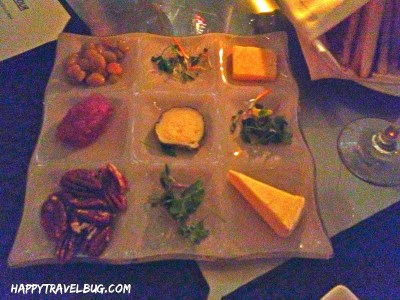 Three Cheese plate from Aureole in Las Vegas
