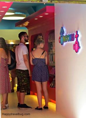 Condom store in Barcelona, Spain