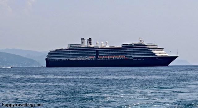 The Noordam ship on Holland America Cruises