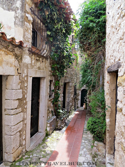 """The """"streets"""" of Eze, France"""