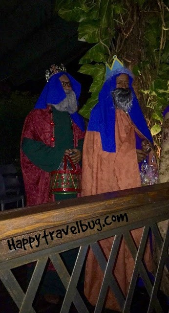 Two of the Three Kings celebrating Three Kings Festival in San Juan, Puerto Rico
