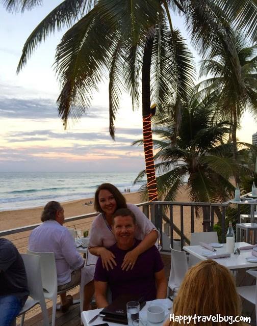 Dinner at Oceano in San Juan, Puerto Rico
