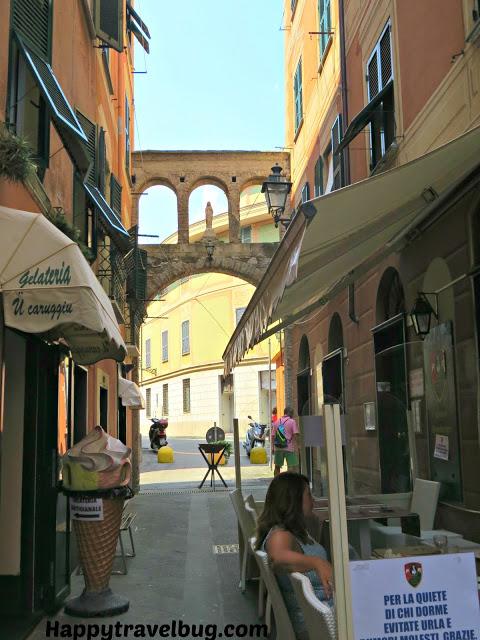 Santa Margherita Ligure, Italy streets