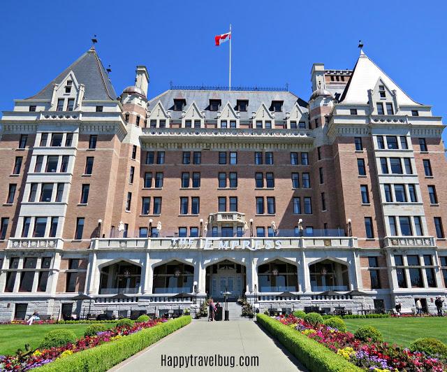 The Empress hotel in Victoria, BC