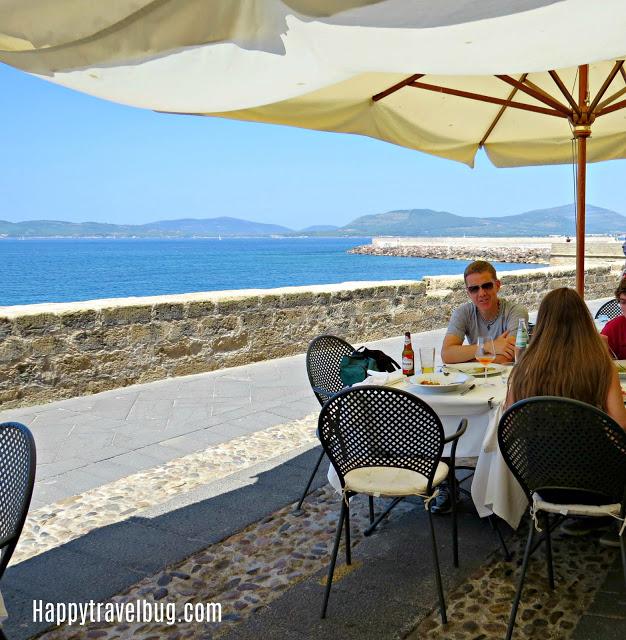 Fabulous restaurant in Alghero, Sardinia, Italy