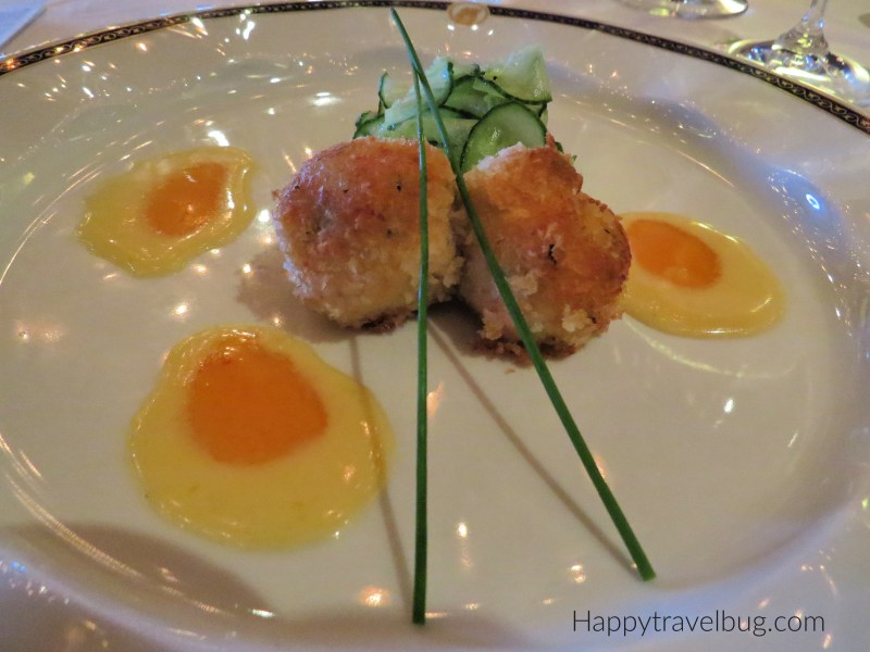 Crab Cakes from Pinnacle Grill on Holland America Cruise Line
