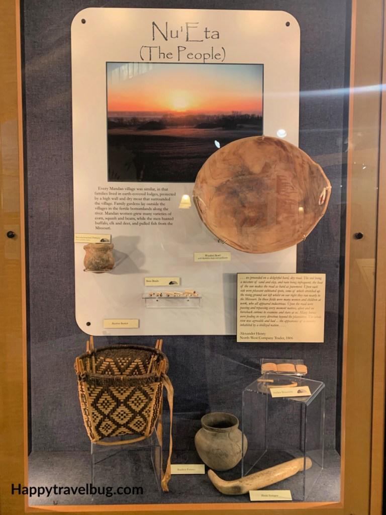 Mandan Indian artifacts