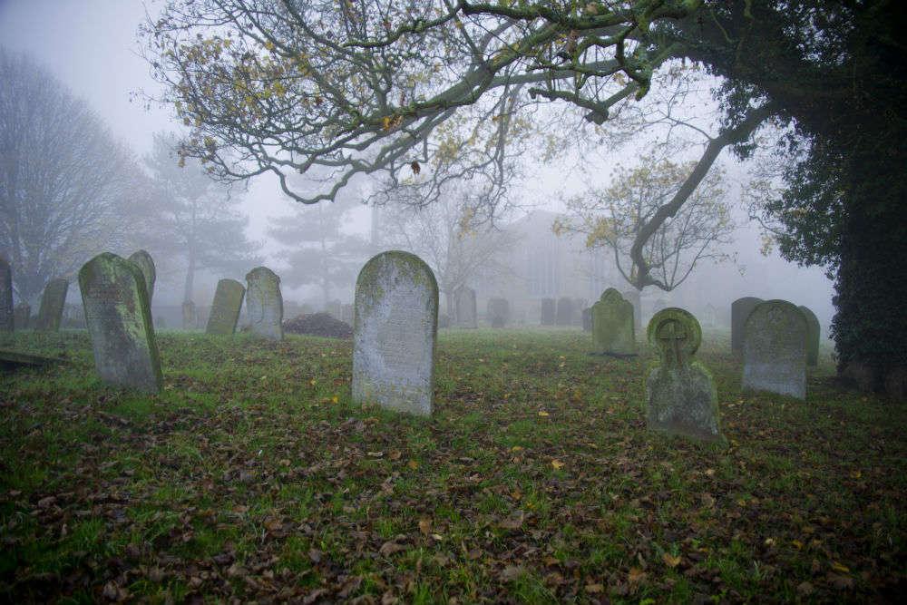 The haunted cemetery at Dunedin