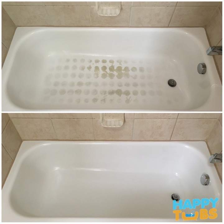 Bathtub Cleaning for only $199 - Happy Tubs