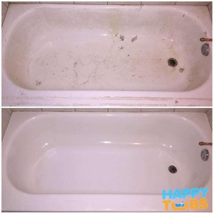 Bathtub Restoration - Happy Tubs Bathtub Restoration